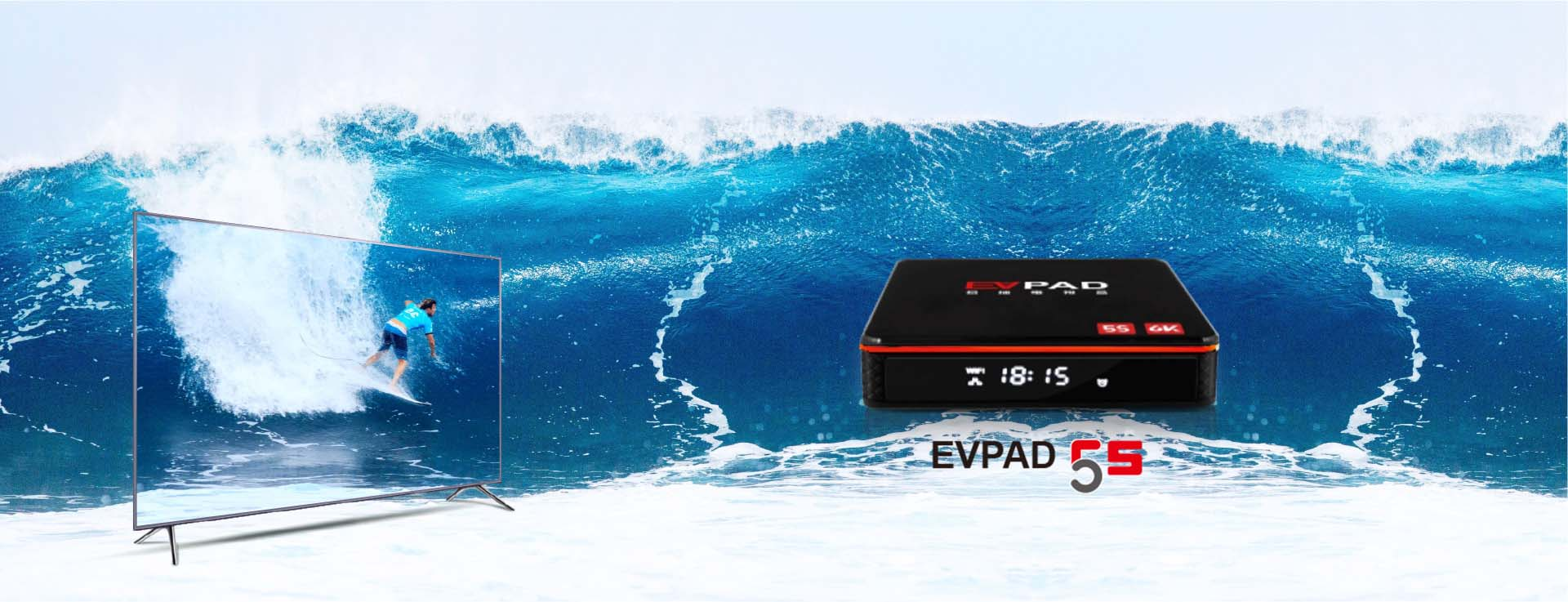 EVPAD TV Box in Thailand  - Massive TV Channels and Movies for You
